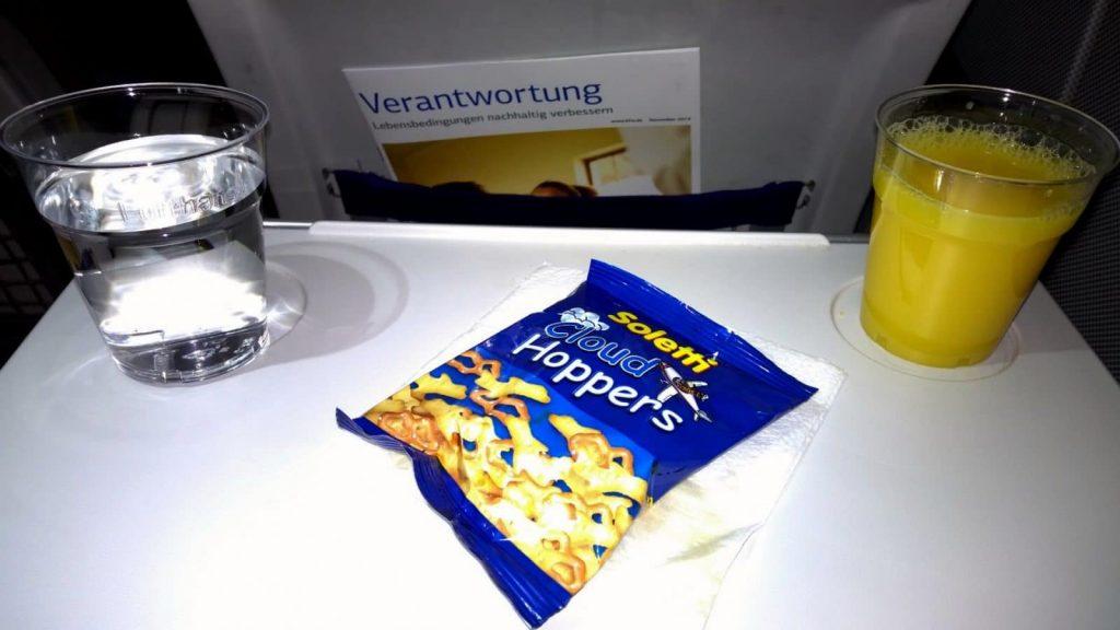Lufthansa Economy Class Snack