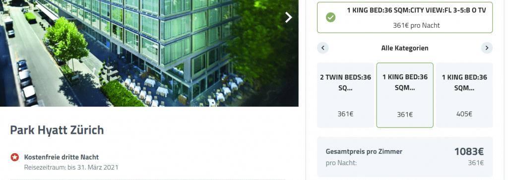 Park Hyatt Zürich Promo