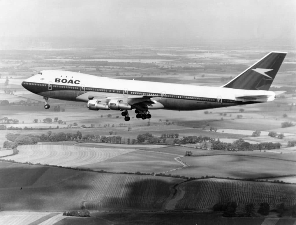 British Airways/BOAC Boeing 747-100