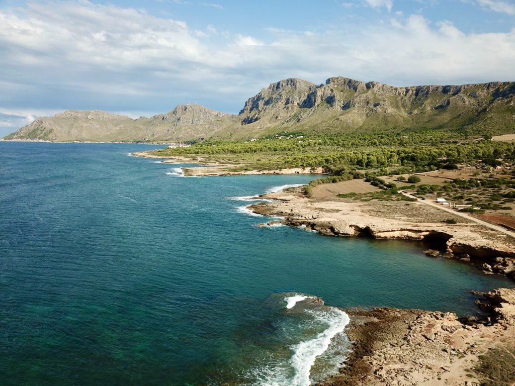 Mallorca Balearen Küste Felsen Strand