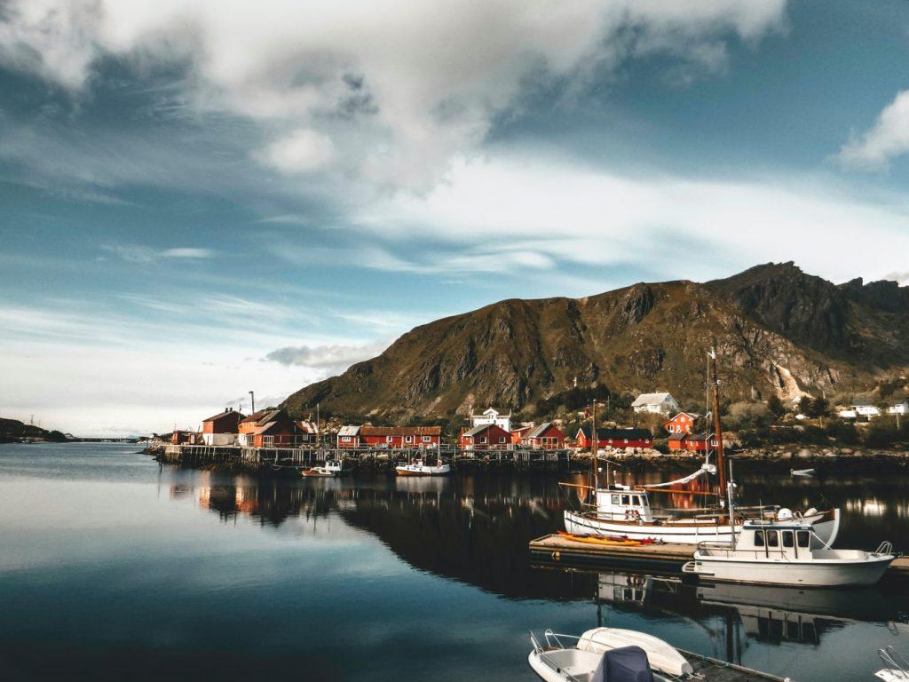 Norwegen Aussicht Landschaft