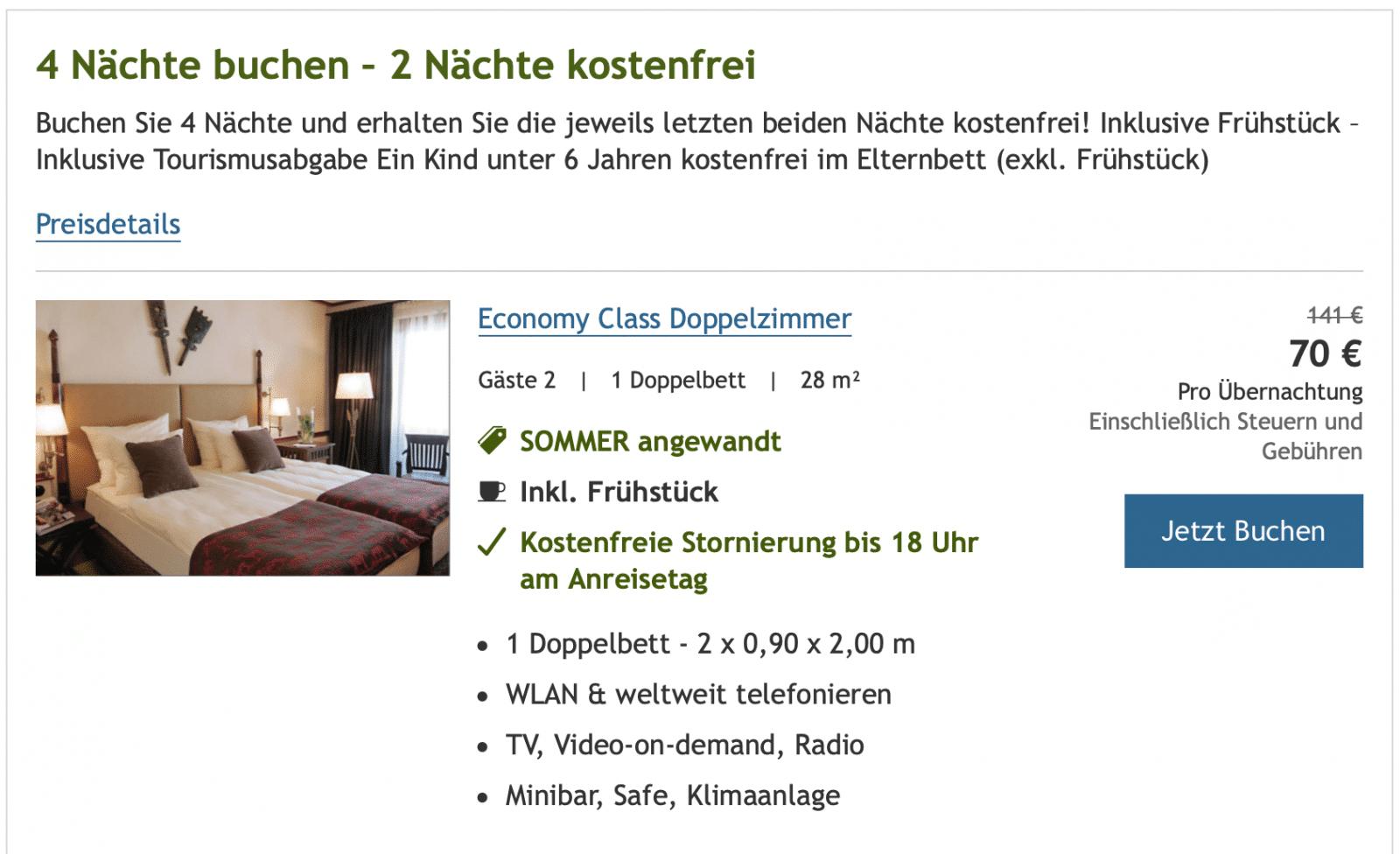 Lindner Hotels Promo