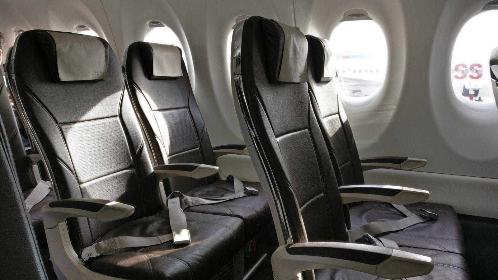 Swiss Business Class Kurzstrecke Sitz