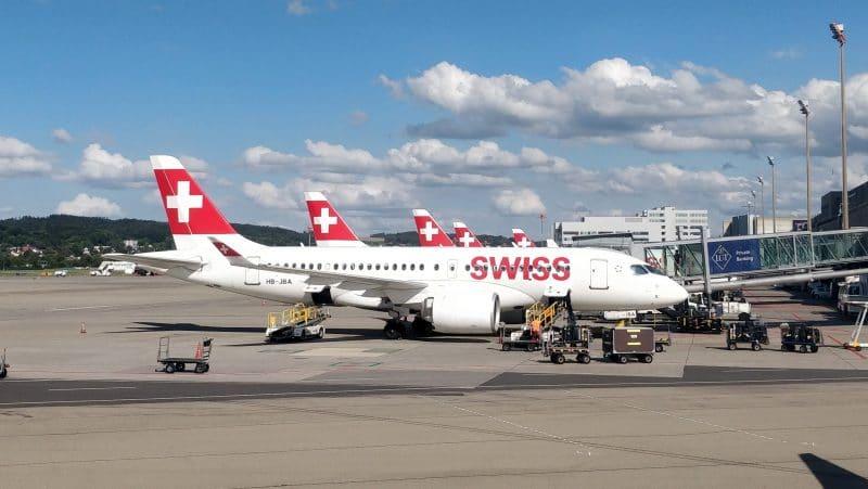 Swiss Flugzeuge