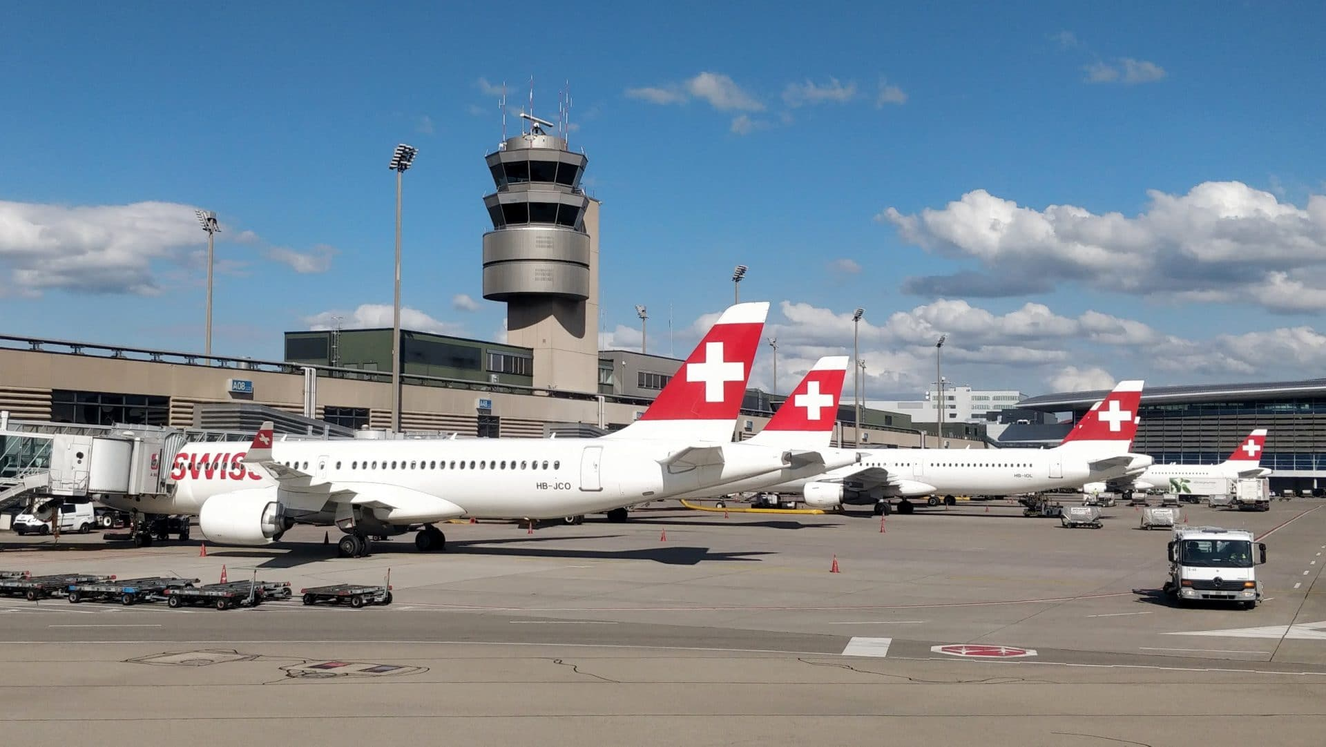 Swiss Flugzeuge Zürich Flughafen