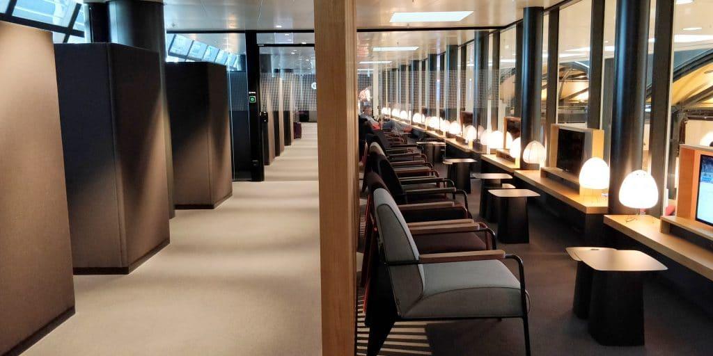 Swiss Senator Lounge Zürich A Ruhebereich