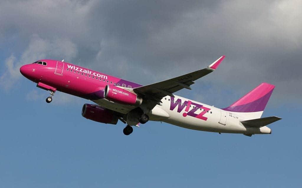 Wizzair Airbus A320 1024x640
