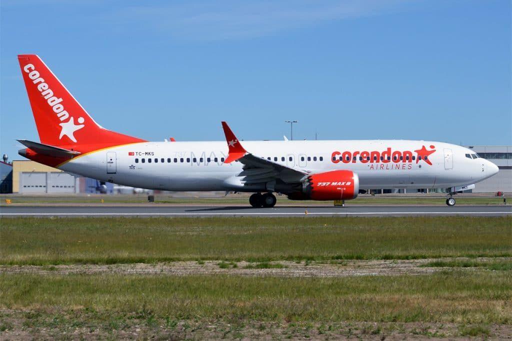 Corendon Airlines TC MKS Boeing 737 8 MAX 27810136237 1024x683