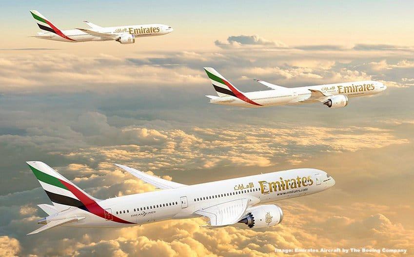 Emirates Boeing 777X & 787 Dreamliner