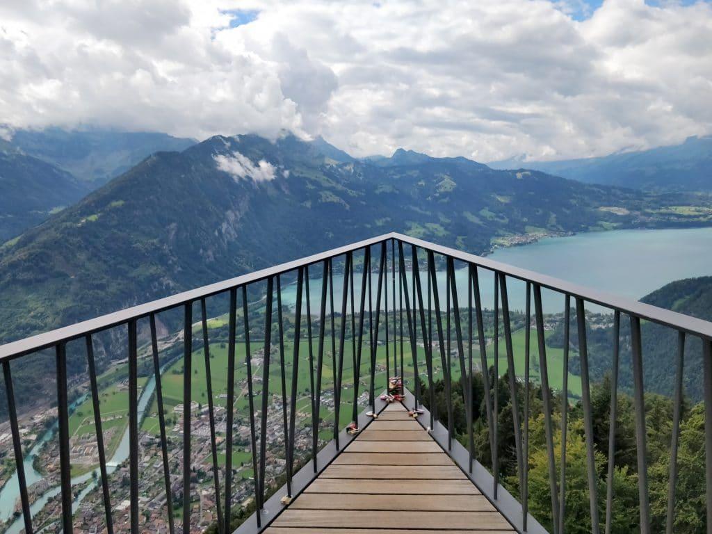 Interlaken Harder Kulm Aussichtsplattform