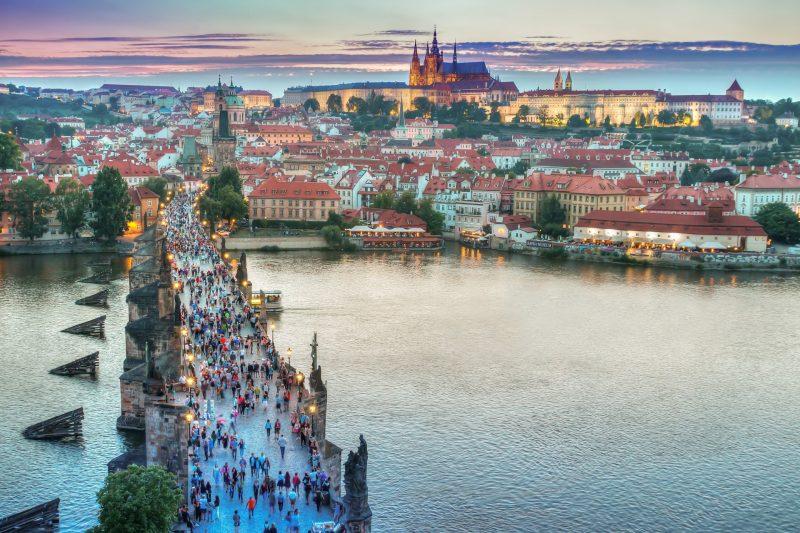 Prag Skyline