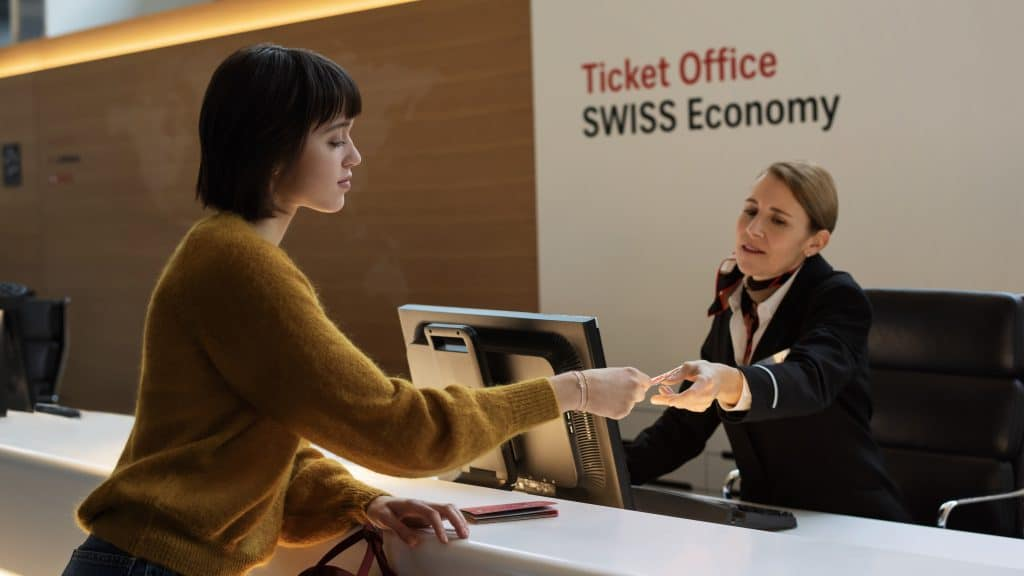 Ticket Office SWISS Economy