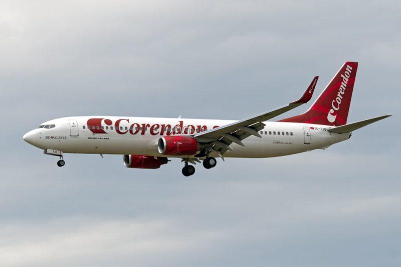 TC TJG Corendon Airlines 7250001054