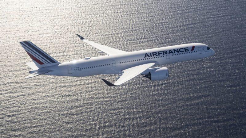 Air France A350 Formatiert