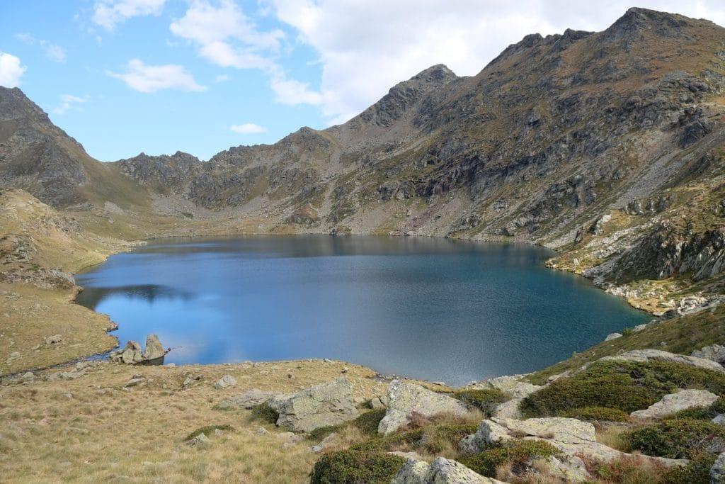 Andorra Natur Landschaft See Berge 1024x683