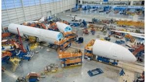 Boeing Werk 787 Dreamliner