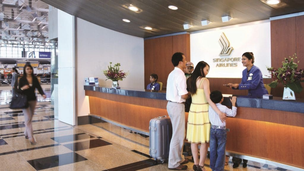 Singapore Airlines Grouns Service