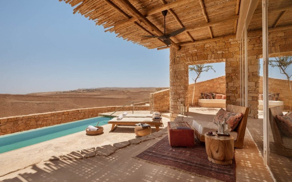 Six Sense Israel Villa Pool Aussicht 1024x640