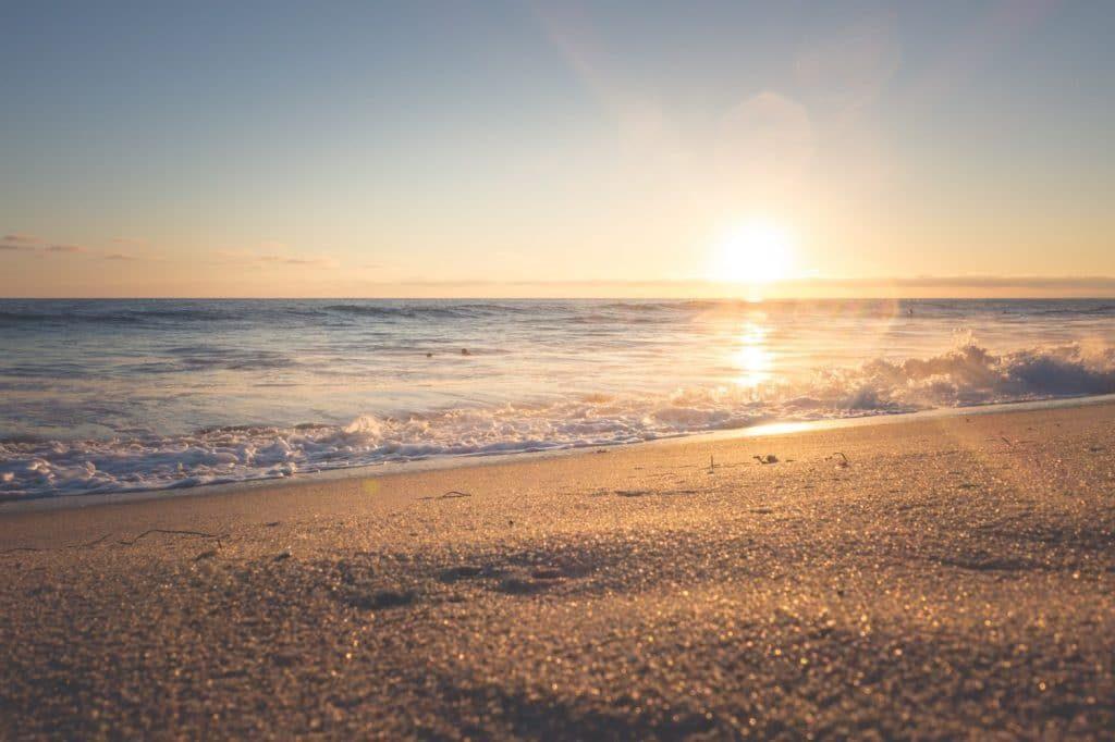 Strand Sonnenuntergang 1024x682
