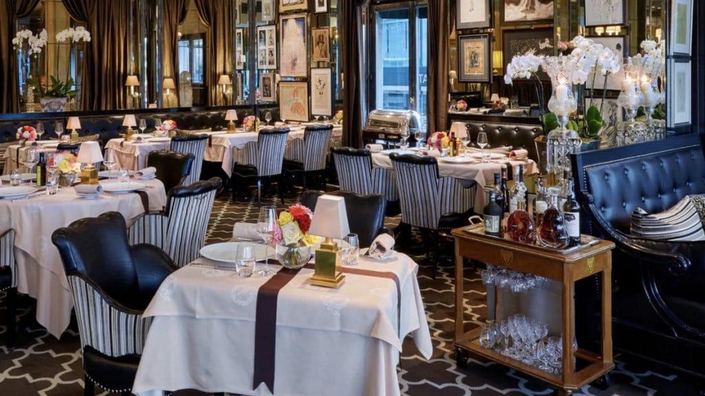 Hotel d'Angleterre Genf Restaurant