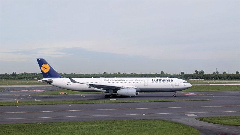 Lufthansa Airbus A330 Düsseldorf