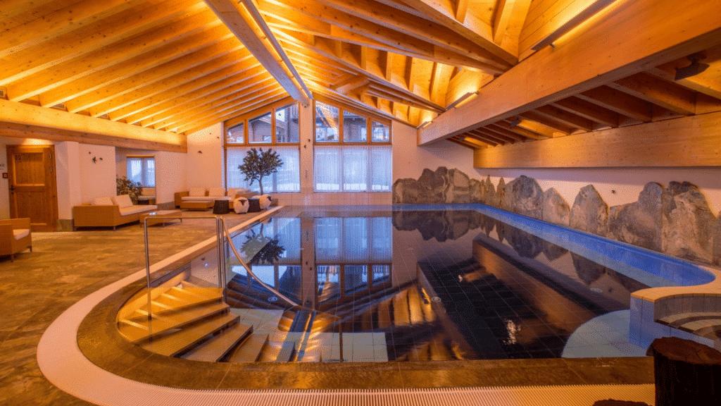 Wellneshotel Riffelalp Resort 2222m Zermatt in der Schweiz