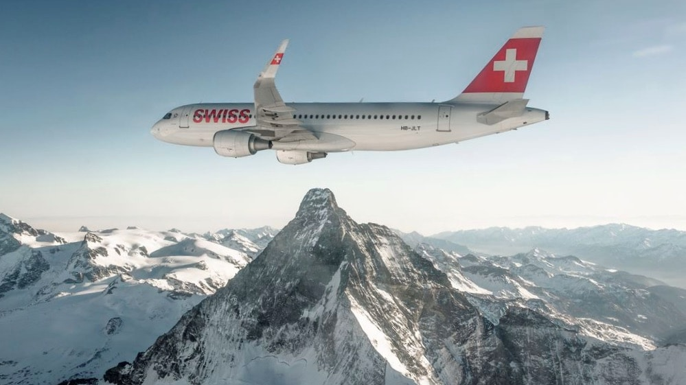 Swiss A320 Airbus
