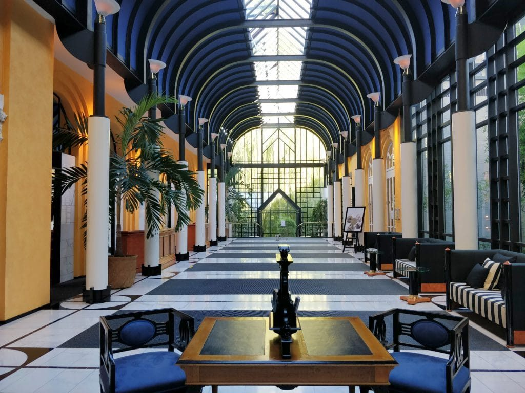 Victoria Jungfrau Grand Hotel Interlaken Lobby