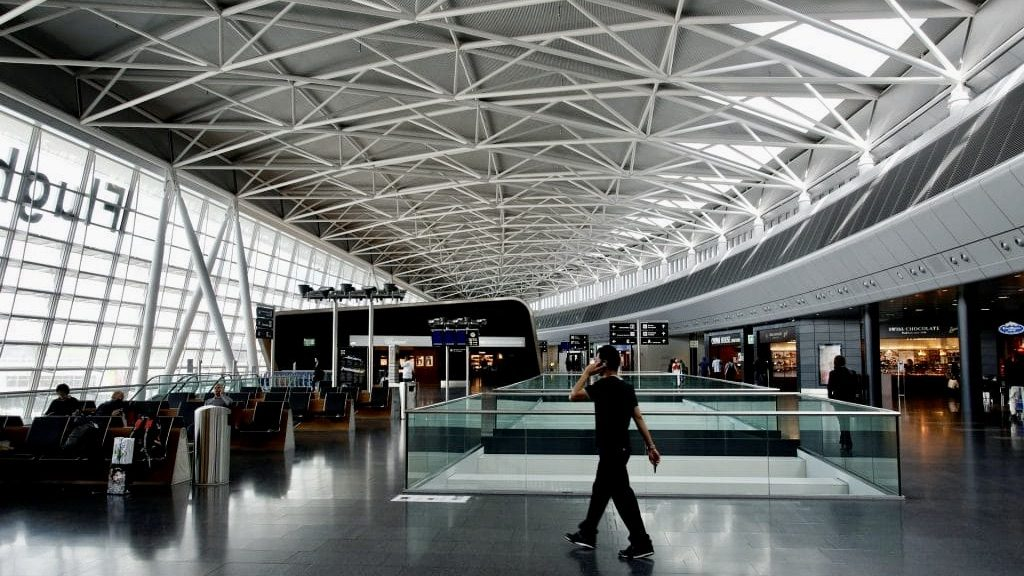 Airport Zurich Empty