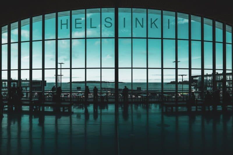 Flughafen Helsinki Finnland Terminal2