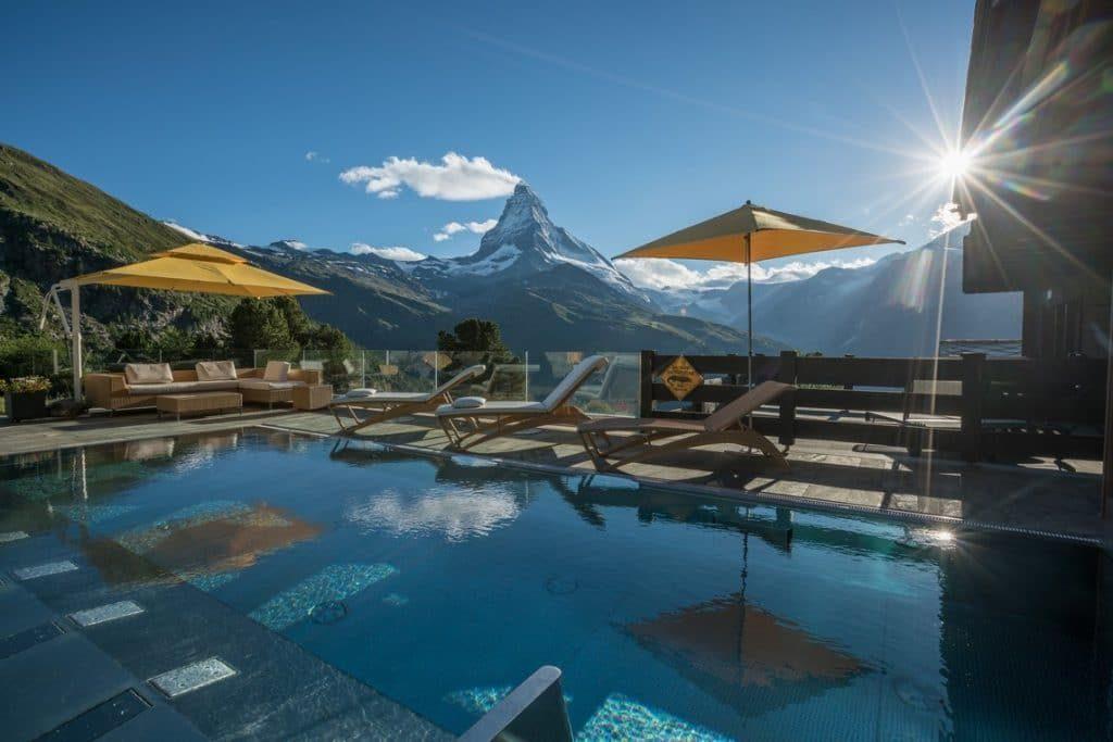Alpen Spa Riffelalp Resort 2222m Zermatt