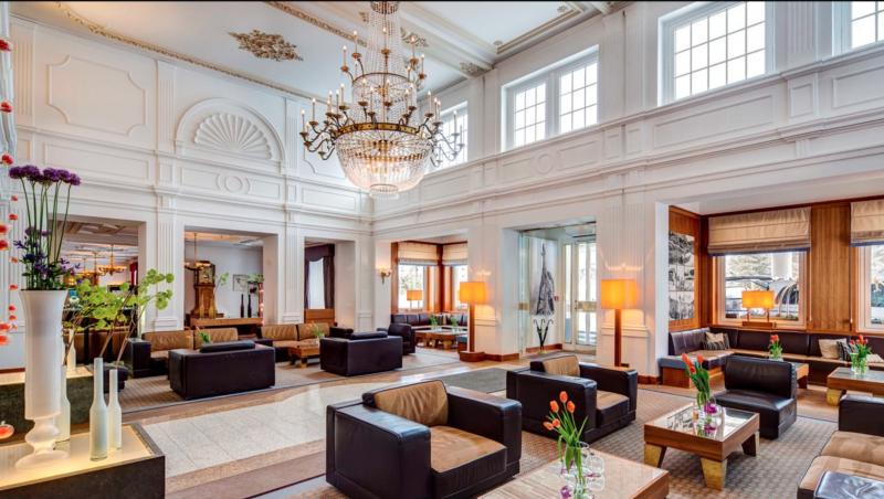 Grand Hotel des Bains Kempinski St. Moritz Lobby