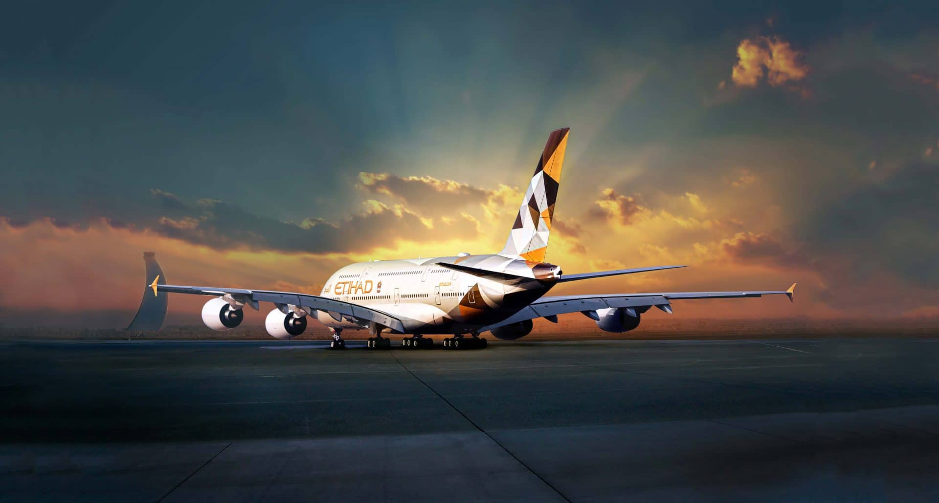 Etihad A380 3