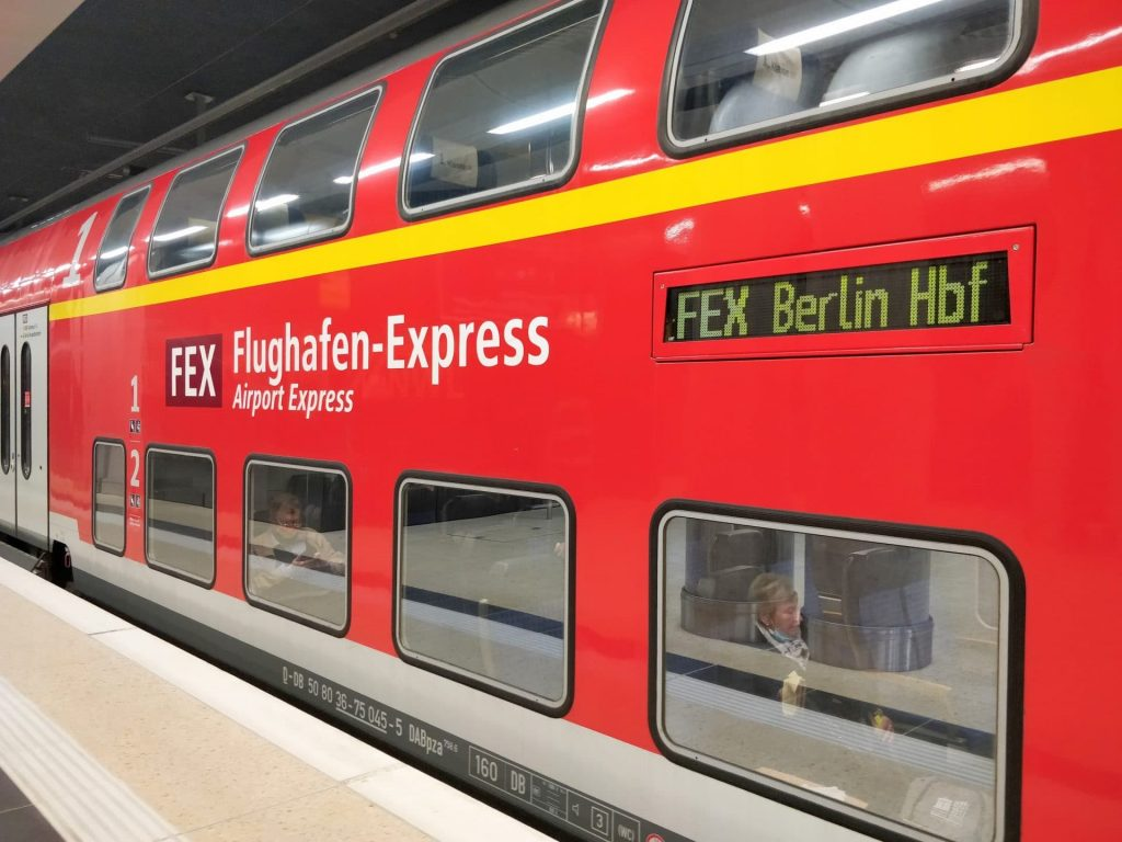 Flughafen Express FEX Berlin BER 2
