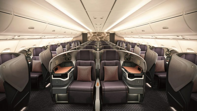 SIA A380 New Business Class