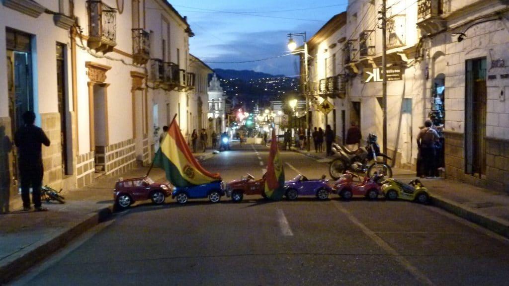 Sucre Protest
