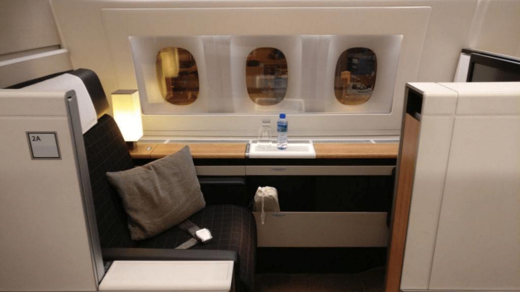 Swiss First Class, Boeing 777