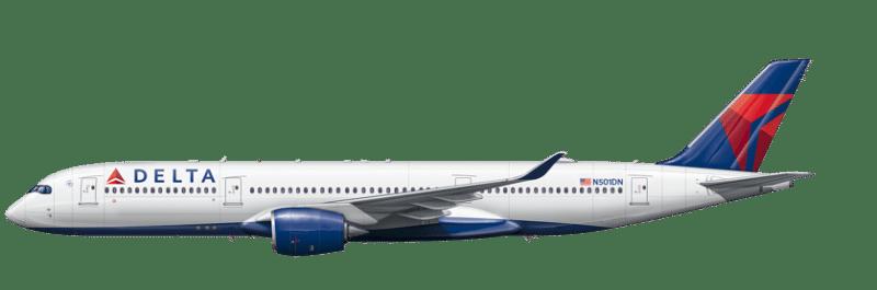 Aircraft A350 Profile Detail 838