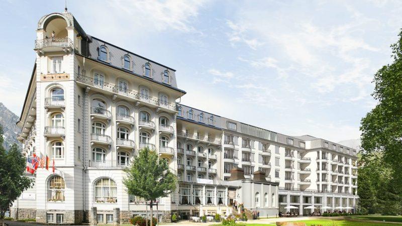 Aussenansicht Kempinski Palace Engelberg Copyright Kempinski Hotels
