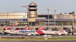 Swiss Airport Zurich Zrh