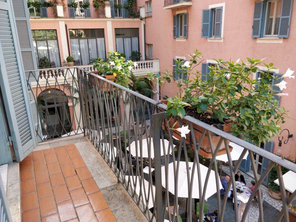 Hotel De Russie Rom Balkon 1024x768
