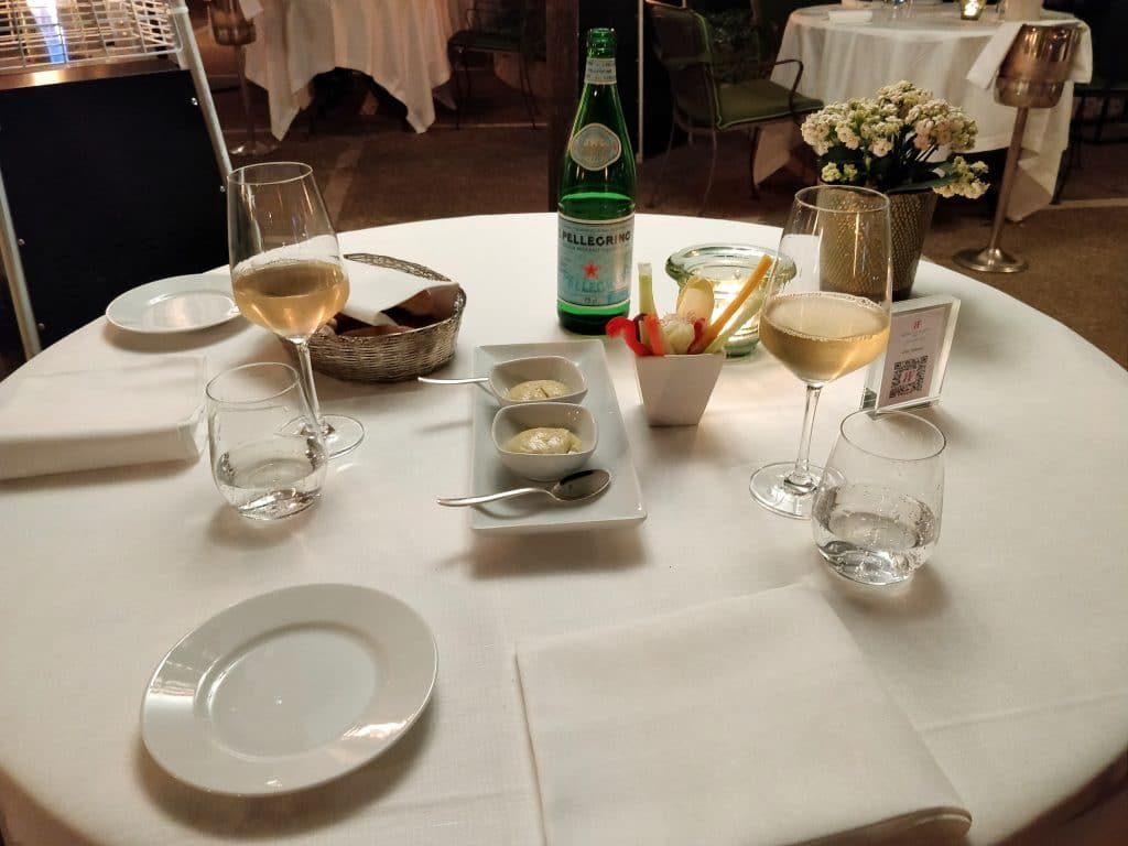 Hotel De Russie Rom Restaurant Abendessen 1024x768