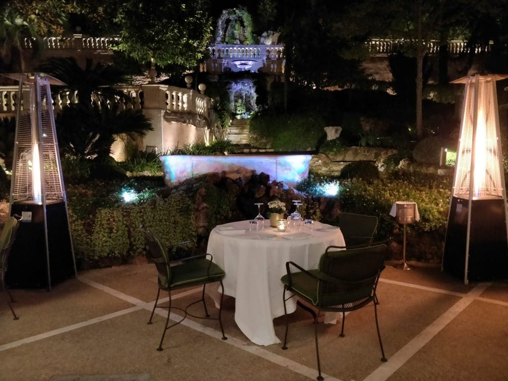 Hotel De Russie Rom Restaurant Nacht 2 1024x768