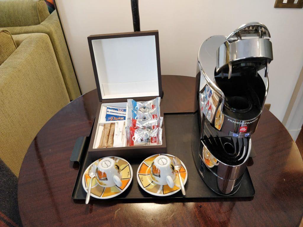 Hotel De Russie Rom Suite Kaffeemaschine 1024x768