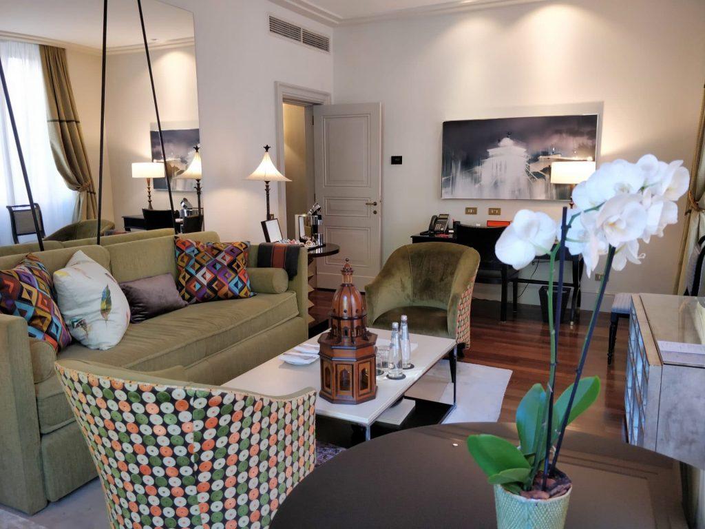 Hotel De Russie Rom Suite Wohnzimmer