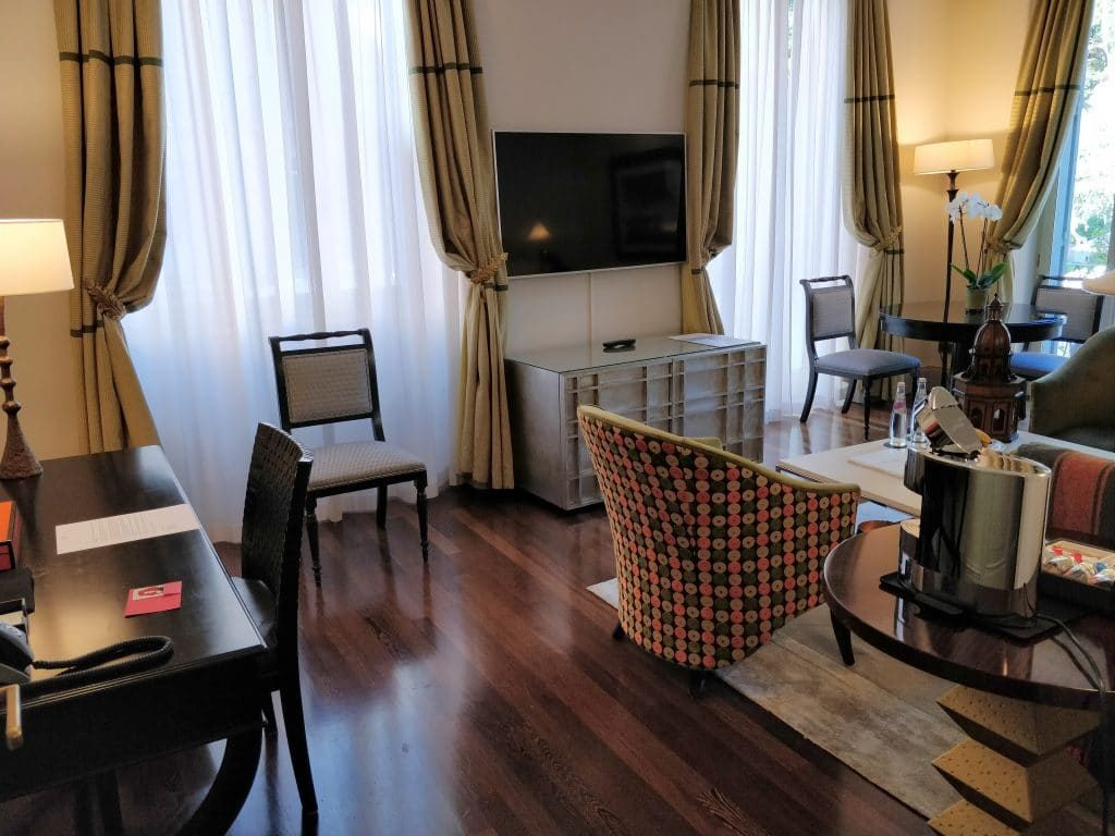Hotel De Russie Rom Suite Wohnzimmer 8 1024x768