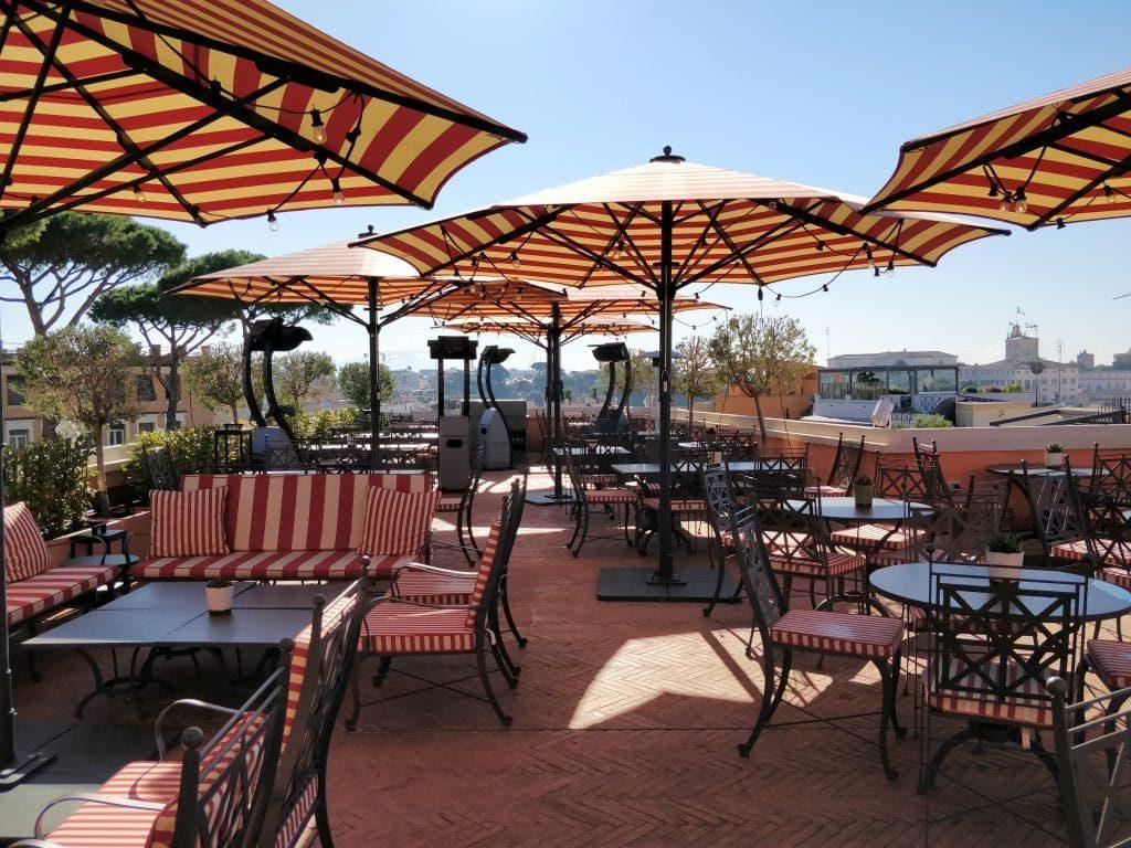 Rocco Forte Hotel De La Ville Rom Dachterrasse 1024x768