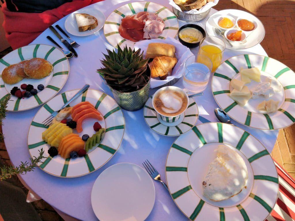 Rocco Forte Hotel De La Ville Rom Frühstück 1024x768