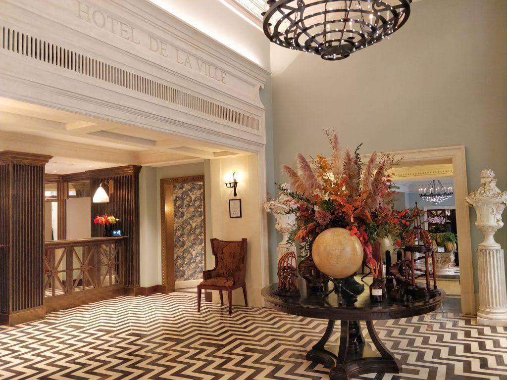 Rocco Forte Hotel De La Ville Rom Lobby 1024x768
