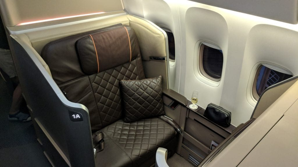 Singapore Airlines First Class Sitz 2 1024x576